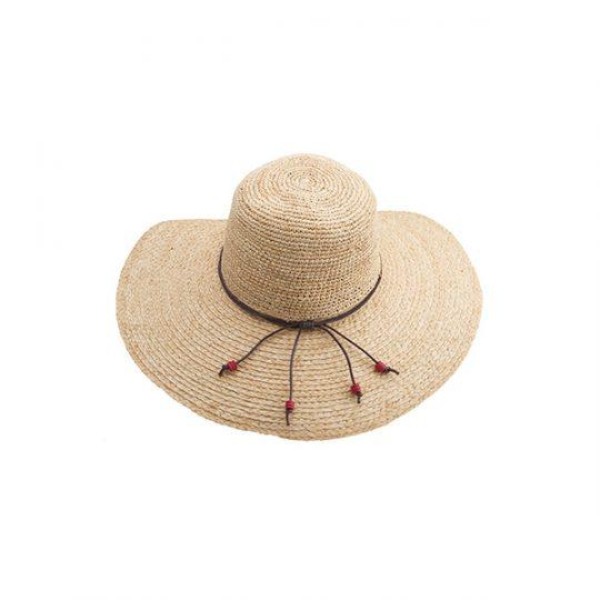 Emthunzini Amy Raffia Sun Hat Natural